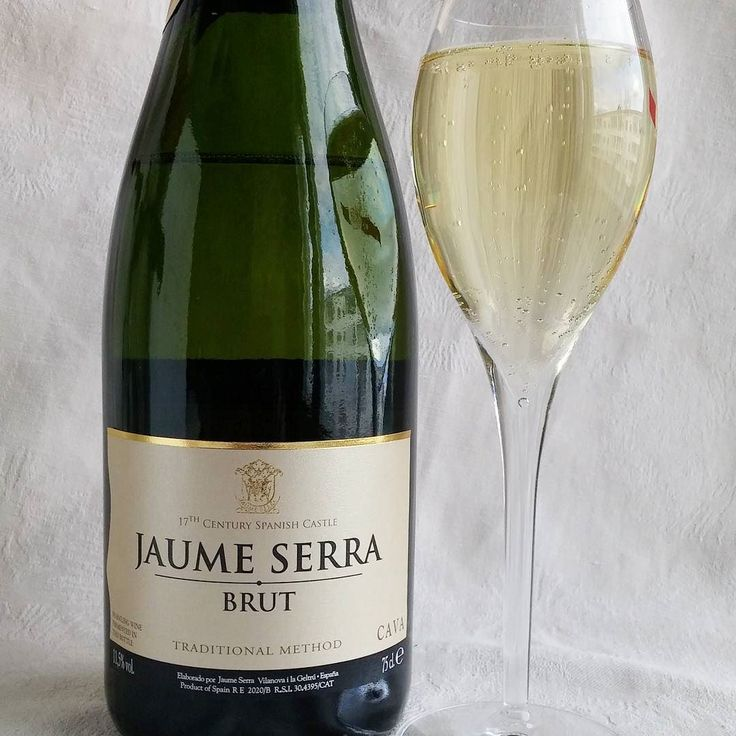 Jaime Serra brut cava. #cava#kuohuviini #viini#wines#winelover#winegeek#instawine#winetime#wein#vin#winepic#wine#wineporn herkkusuu #lasissa #Herkkusuunlautasella