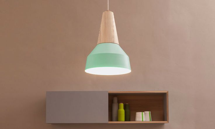 Eikon Lamp by Schneid - Ash wood & powder-coated steel | MONOQI