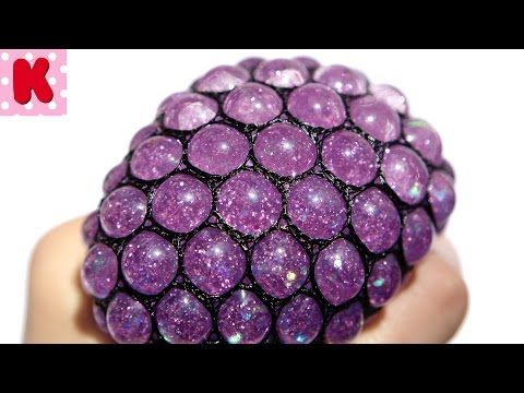 DIY - МЯЧИК АНТИСТРЕСС С БЛЕСТКАМИ. HOMEMADE Stress Balls Tinsel Super Squishy and Fun! - YouTube