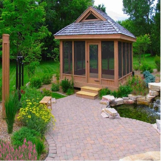 Heart Touching Ideas Of Gazebo Roof Or Cover: 19 Best Hot Tub Repurposed Images On Pinterest