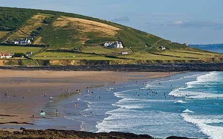 Saunton Sands is an untamed three-mile stretch of beach on the north coast backed by Braunton Burrows
