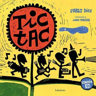 """""""TIC TAC"""": Cancións que farán as delicias das nenas e nenos, con ritmos universais arraigados na música tradicional, e un acompañamento estético e cromático baseado nas técnicas artesanais."""