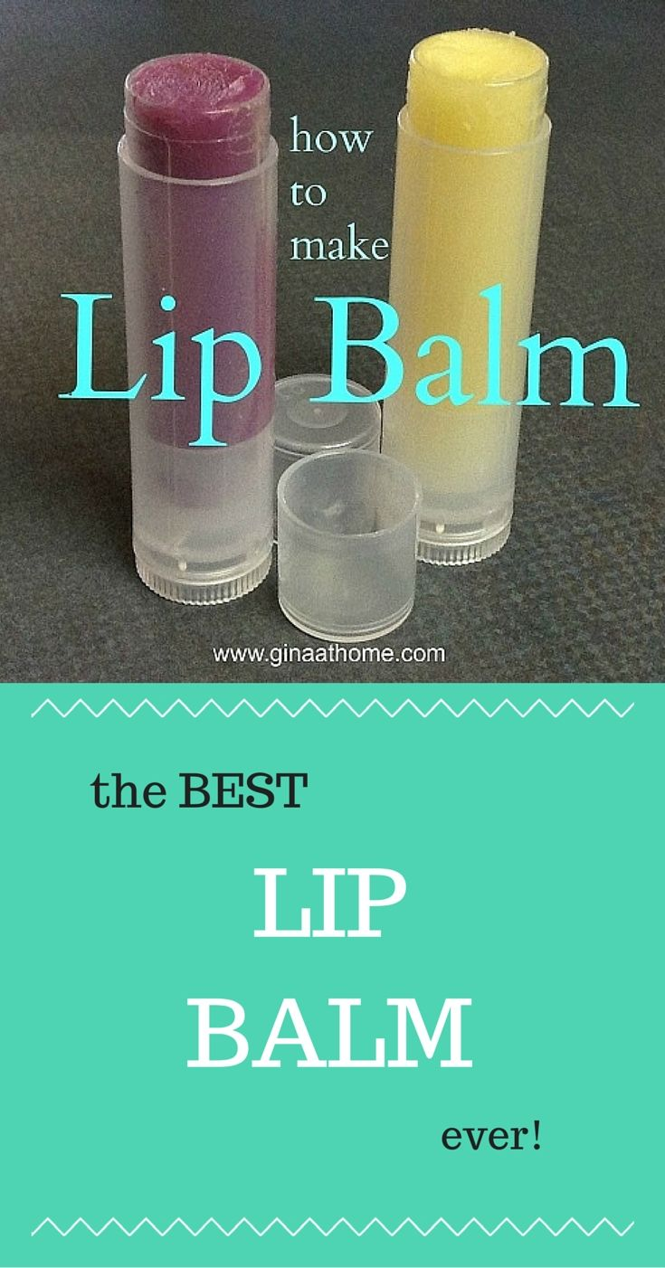 Great All Natural Beeswax Lip Balm  I Had Never Made It Before But This Was