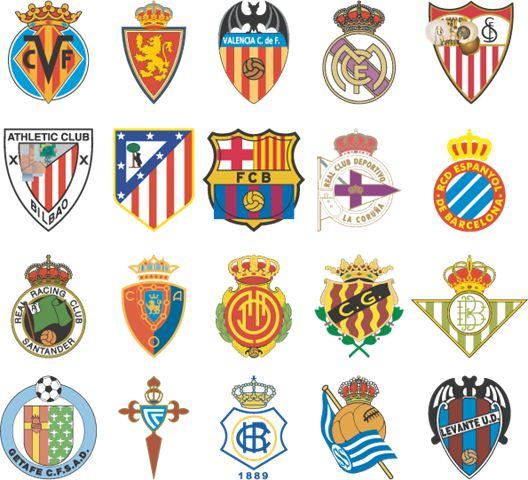 15 best escudos de futbol images on Pinterest  Soccer logo