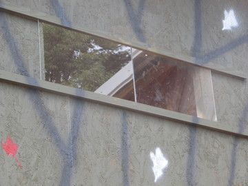 """Windows are made from 1/8"""" plexi glass that slide on a rail. The front windows slide both ways and the slides are single windows.  Window specifications are: 4'x4' front 10""""x22"""", sides 10""""x10"""" 4'x5' and 4'x6' front 10""""x34"""", sides 10""""x10"""""""