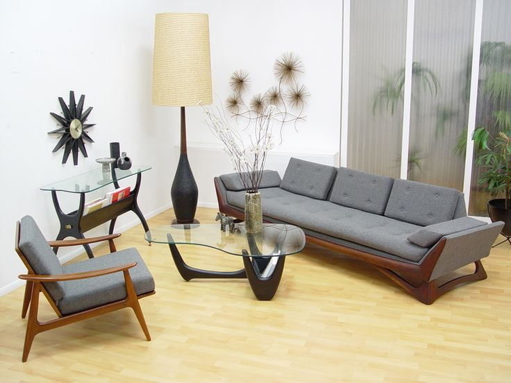 2355 best mid century modern interiors images on pinterest - Mid century modern home decor ...