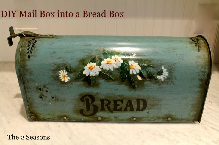 Bread Box from a Mail Box .. Country!