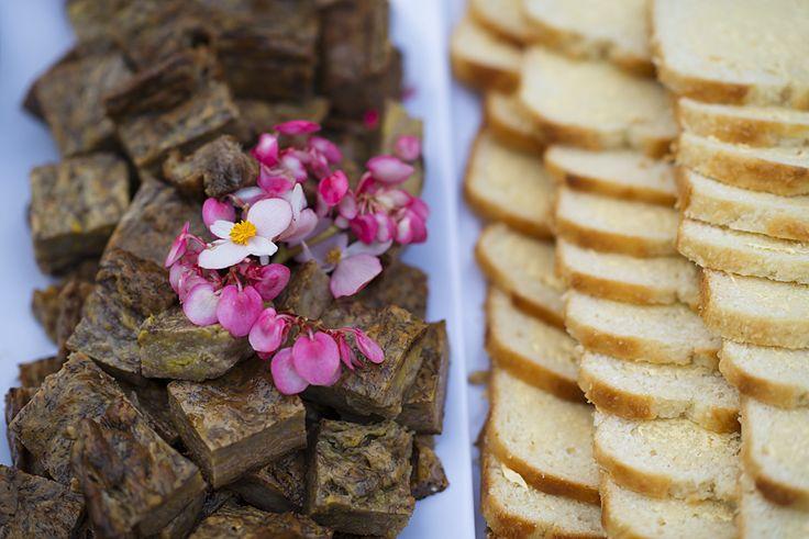 Traditional food on Norfolk Island - banana pilhi and coconut bread YUM! Photo Courtesy of Lauren Bath