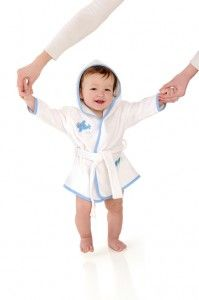 Slumbersac Bath Robes are an ideal way to assist bath time and to prepare baby for a comfortable and peaceful nights sleep. Slumbersac Bath Robes are also ideal for swimming lessons. Made with 100% woven terry, Cotton and Highly absorbent.