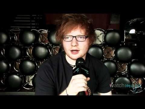 Ed Sheeran on 'The A Team,' Ron Weasley - YouTube