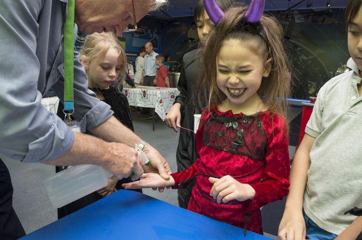 Kids love the #ANSTO #Halloween Workshops!