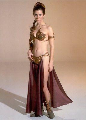 Princess Leia in Metal Bikini