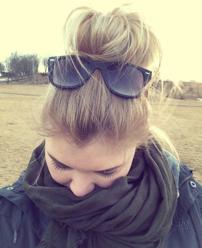 Sara Heymans - Er en lillablogger.