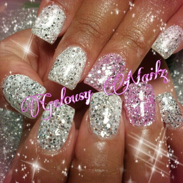 Chrome bling nail glitter design - 234 Best Nails <3 Nails <3 Nails <3 Images On Pinterest Nail Art