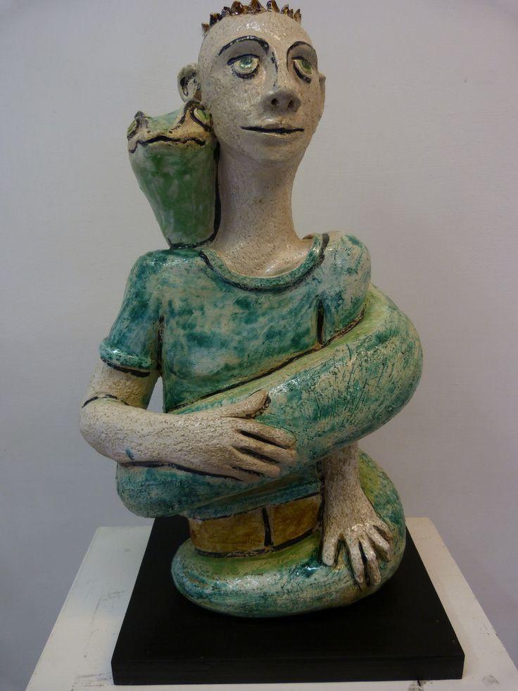 Favorito Oltre 25 fantastiche idee su Sculture in ceramica su Pinterest  YC04
