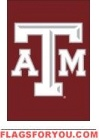 "Texas A & M Aggies Garden Window Flag 15"" x 10.5"""
