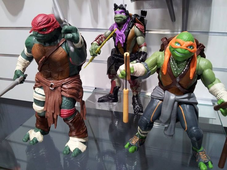 Tired of Ninja Turtle Reveals? Here's A Closer Look At The Action Figures
