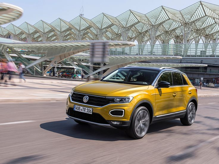 El VW T-ROC hace su estreno mundial