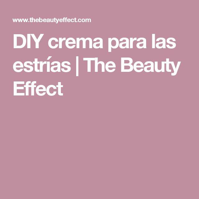 DIY crema para las estrías | The Beauty Effect