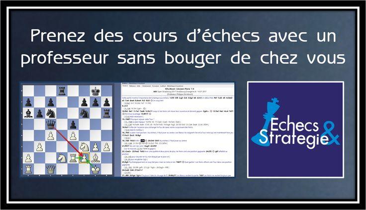 Nous proposons des formations au jeu d'échecs pour débutants, joueurs occasionnels ou joueurs de club qui désirent progresser durablement www.jouer-aux-echecs.com #echecs