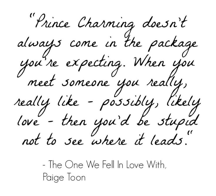 Paige Toon, quote, the one we fell in love with book