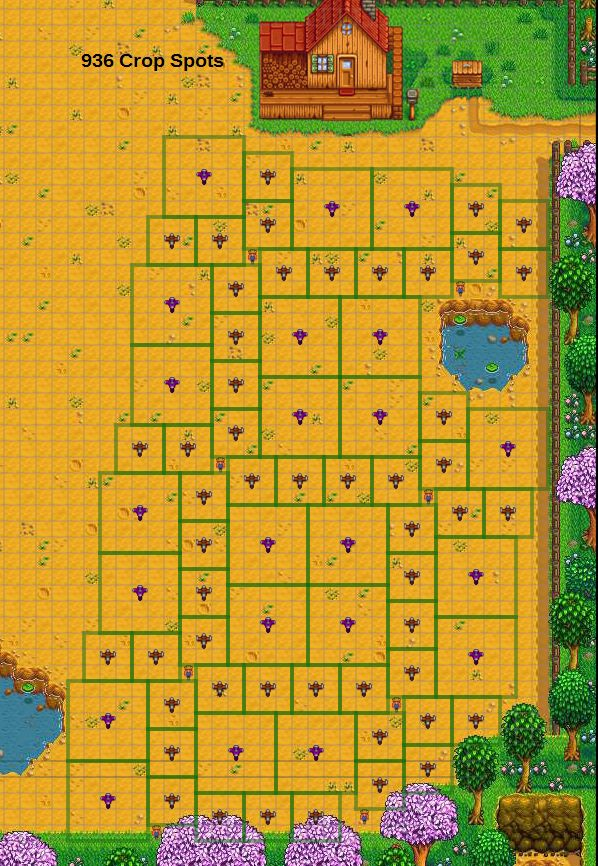 Image result for stardew valley farm layout blank