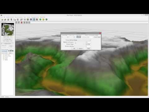 Modeling Canyon in World Machine, heighfield shapes, part 1 of 4 - YouTube