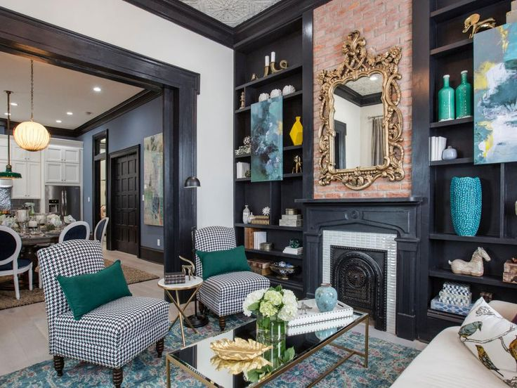 Brothers Take New Orleans Living Room Transformations From Drew And Jonathan Scott