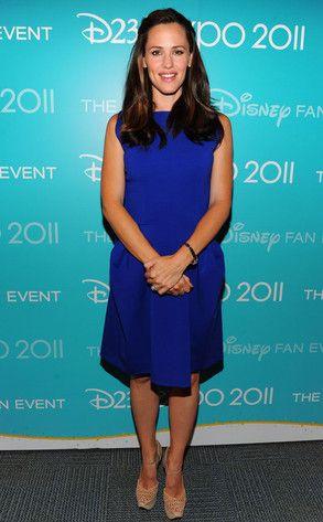True Blue from Jennifer Garner's Best Looks | E! Online