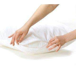 Lfh One Piece 50X70Cm Waterproof Zippered Pillow Protector Bed Bug Proof Pillow Cover Protects