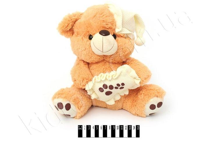 Ведмедик з подуш. муз. S38-059328, интернет магазин игрушек для детей, мягкие детские игрушки, игрушки для детей, игры про животных онлайн, одежда для малышей, игрушки для детей от 5 лет