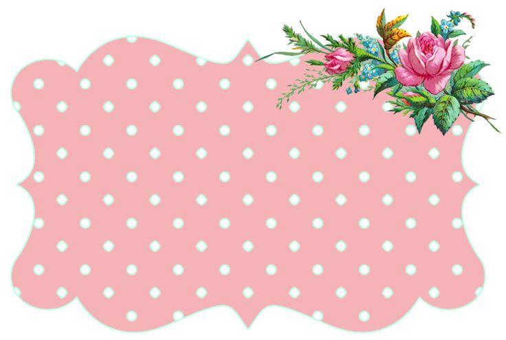 Vintage Pink | Freebie Image: Vintage Flower Frames + a Winner! ♥ | *Free ...