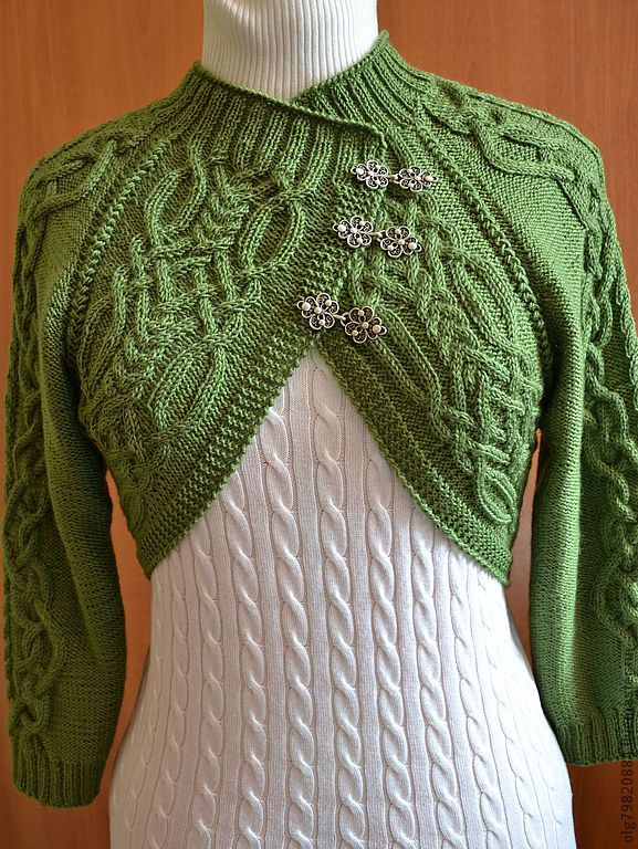 Shrug Patterns To Knit : 1000+ ideas about Knit Shrug on Pinterest Knitting, Knitting Patterns and S...