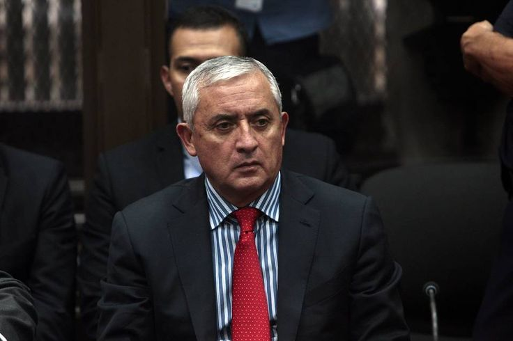 Former Guatemalan President Otto Perez Molina has appeared in court after spending his first night in prison. Otto Perez Molina, 64, rejected