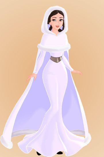 Love these! Star Wars characters as Disney Princesses...Leia Organa Solo
