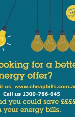 Finding the cheapest electricity supplier and cheapest gas supplier is easy with cheapbills.com.au. Compare electricity and gas rates from some of Australia's leading energy suppliers and see if you could save.  cheapbills will compare your current electricity and gas plan with the great deals we have obtained from our partner retailers. We will offer you a great energy deal and best of all our service is free. call us 1300786045