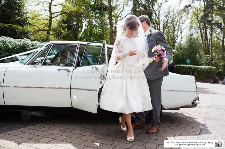 #Bride getting out of the #Wedding #Car