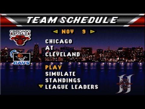 NBA Live 96: Season Mode Game #4: Bulls Vs Cavs