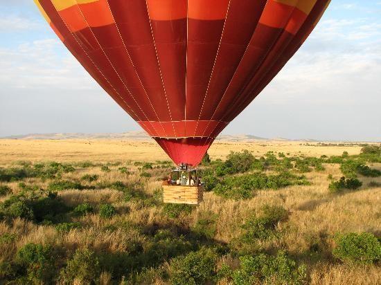 Hot Air Ballooning - Picture of Maasai Mara National Reserve, Rift ...