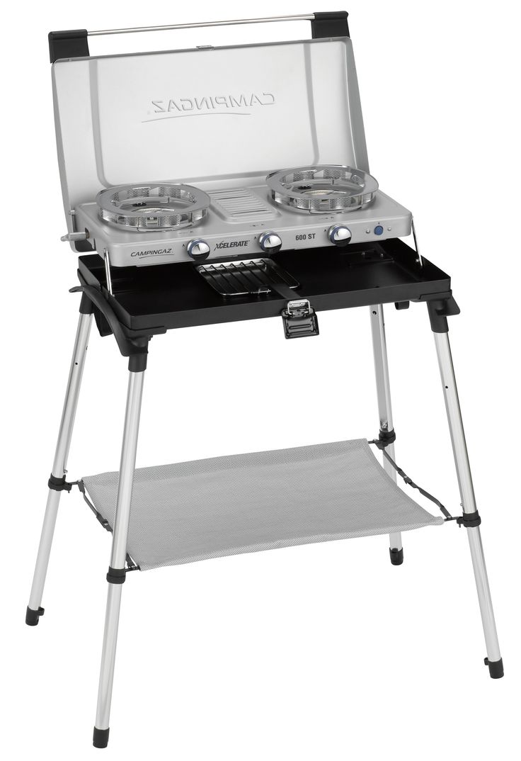 Campingaz 600-ST Series Two Burner Stove, Grill and Stand £107.99 107cm