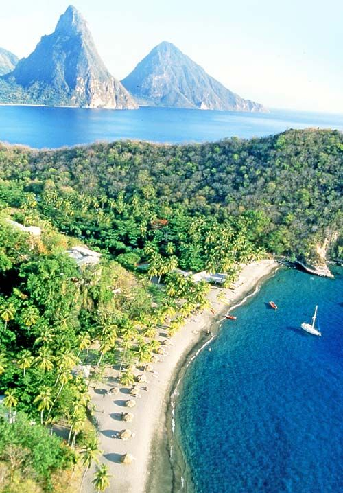 412 best images about st lucia on pinterest for Best honeymoon spots in the caribbean
