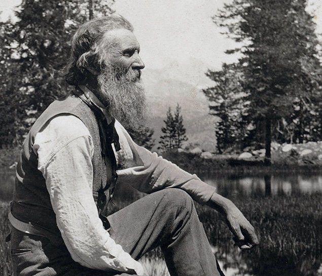 """John Muir (also, """"John of the Mountains"""") was a Scottish-American naturalist, author, environmental philosopher and early advocate of preservation of wilderness in the United States. His letters, essays, and books telling of his adventures in nature, especially in the Sierra Nevada of California and Nevada, have been read by millions. His activism helped to preserve the Yosemite Valley, Sequoia National Park and other wilderness areas. He founded the Sierra Club."""