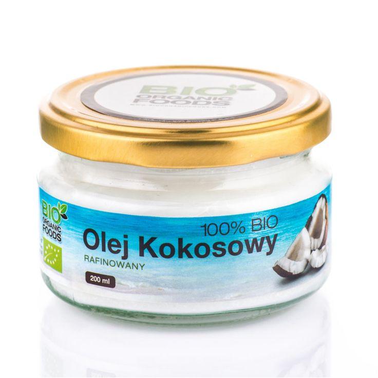 Olej Kokosowy bezzapachwy 100% BIO