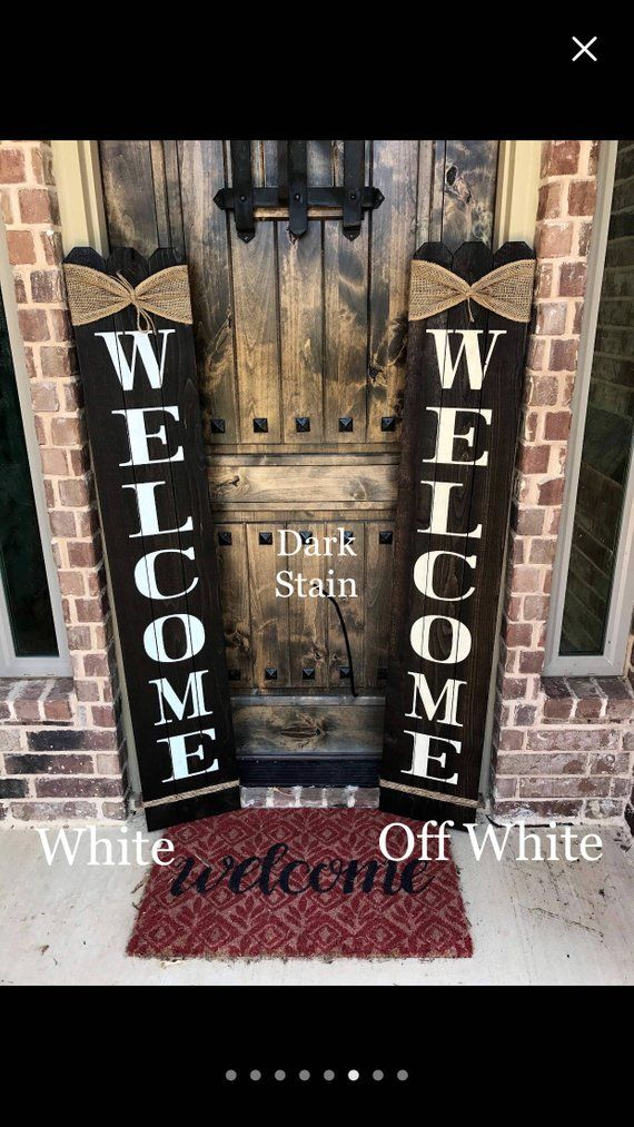 Rustic Welcome Sign 58 Tall Welcome Sign For Front Porch Front Porch Decor Wood Sign Rustic Wood Sign Vertical Wood Welcome Sign Wooden Welcome Signs Porch Welcome Sign Rustic Wood Signs