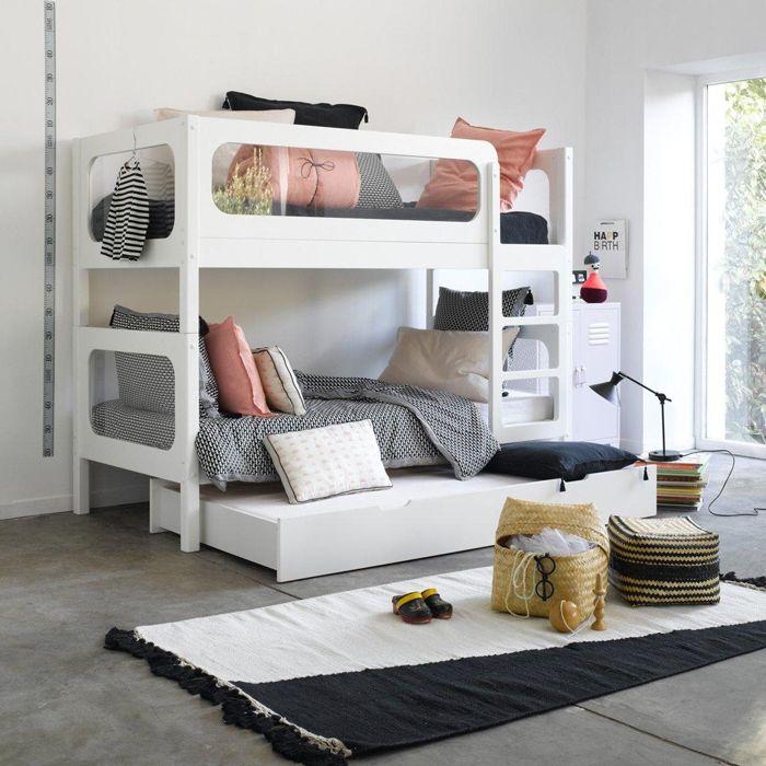 Des Lits Superposés Séparables Pour Les Enfants. Blog DesignsKidsroomModern  Bunk BedsWhite ...