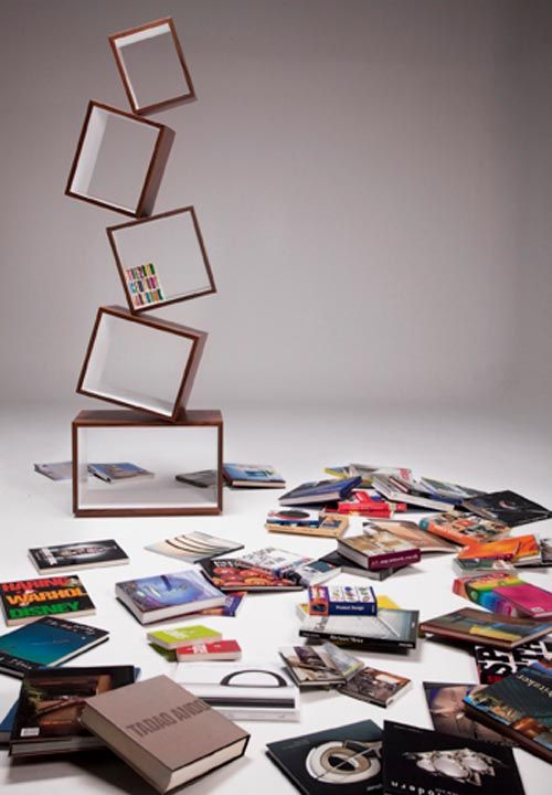 Equilibrium Bookcase By Colombia Based Malagana Design