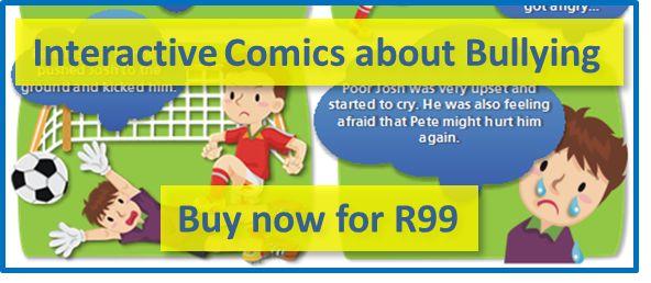 Interactive comics about bullying, anti-bullying, bullying, stop bullying, teach children empathy to prevent bullying, empathy prevents bullying, no more bullying, bullies in schools