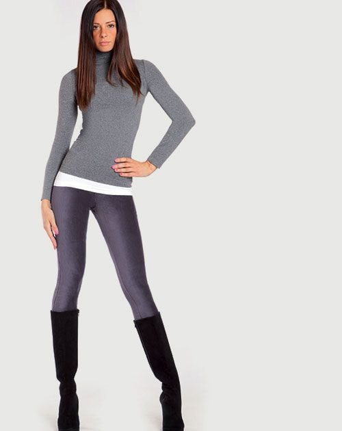 Golden Point 2015 Catalogo Autunno Inverno Leggings Velluto Microcostina