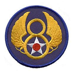 8th Air Force during WWII in the ETO: facts, statistics, history and useful information #air #force #ta http://usa.nef2.com/8th-air-force-during-wwii-in-the-eto-facts-statistics-history-and-useful-information-air-force-ta/  # 8th Air Force of the Army Air Force World War Two This is the Eighth Air Force Shoulder patch that was worn on the left side of the uniform by members of the United States Army Air Forces during World War II. Modern reproduction. History and Information about the Eighth…