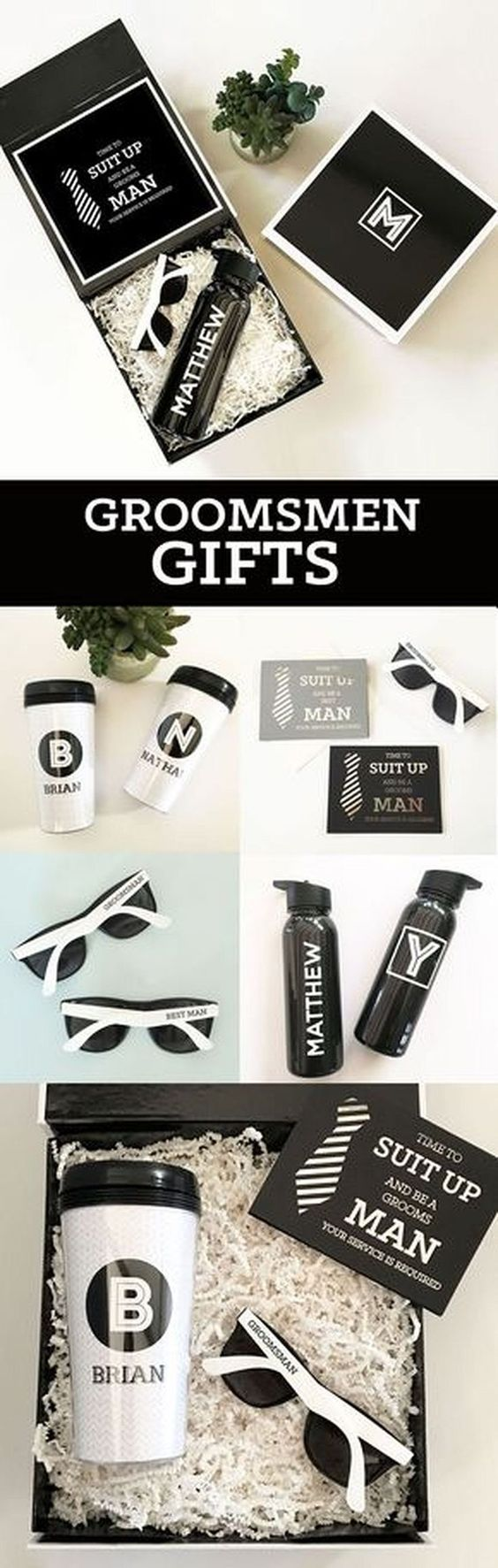 "cool 228 Groomsman Gift Ideas https://weddmagz.com/228-groomsman-gift-ideas/ [ ""Carefully designed Groomsmen Gifts for the modern men in your bridal party. Most gifts can be personalized or monogrammed with the groomsman or best mans name."" ] # # #Grooms #Men #Gifts, # #Gifts #For #Groomsmen, # #Be #My #Groomsman, # #Man #Gifts, # #Party #Gifts, # #Wedding #Hairstyles, # #Wedding #Gifts, # #Wedding #Stuff, # #Dream #Wedding"